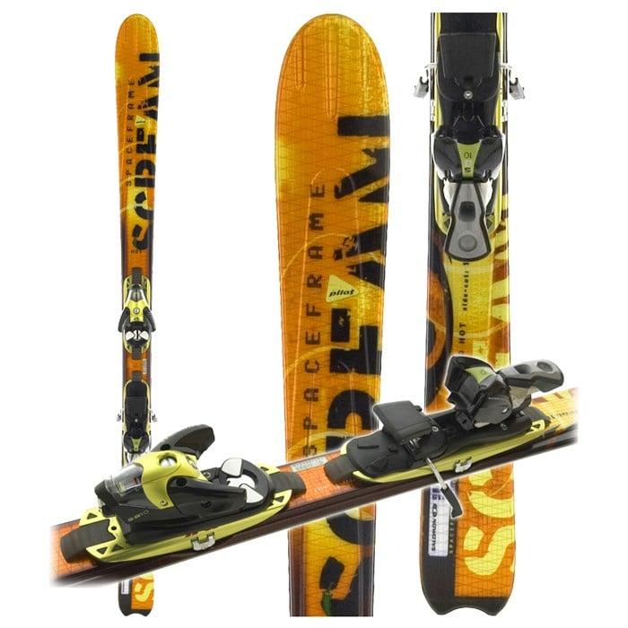 2d5885663cdc Salomon - Scream 10 Hot Skis + Bindings - Used 2004 ...
