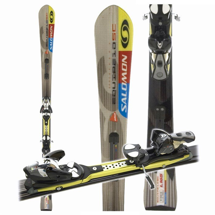 famous brand limited guantity discount Salomon Equipe 10 SC + Salomon S912 Ti Bindings 2006