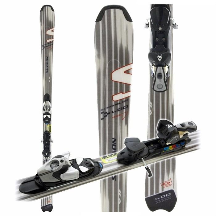 Salomon Scrambler 400 Skis + Salomon S710 Bindings 2006