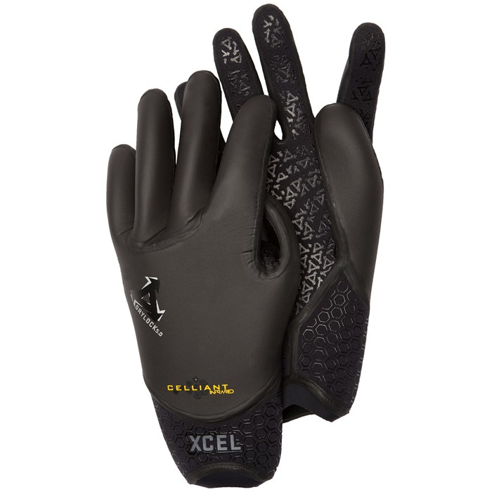 XCEL - 5mm Drylock TDC 5 Finger Gloves