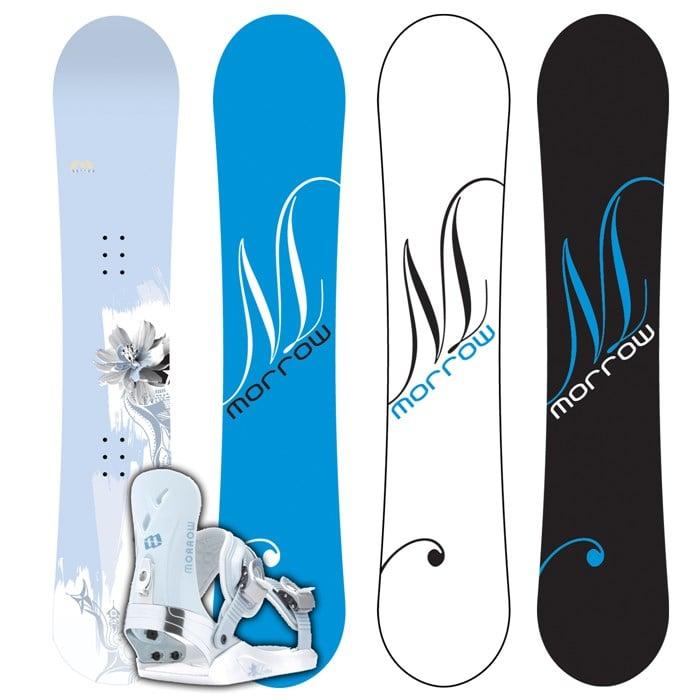 Morrow Lotus Snowboard + Lotus M Binding - Women's 2007