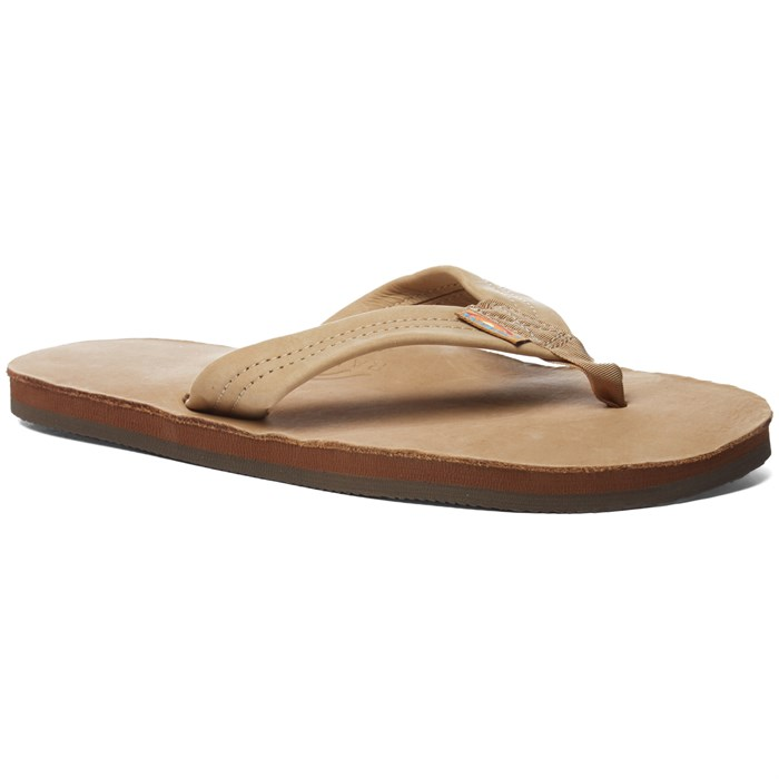 Rainbow - Premier Leather- Single Layer Sandals
