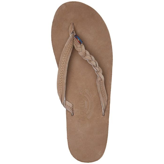 Rainbow Flirty Braidy Premier Leather Sandals - Women s  2c0e27d22596