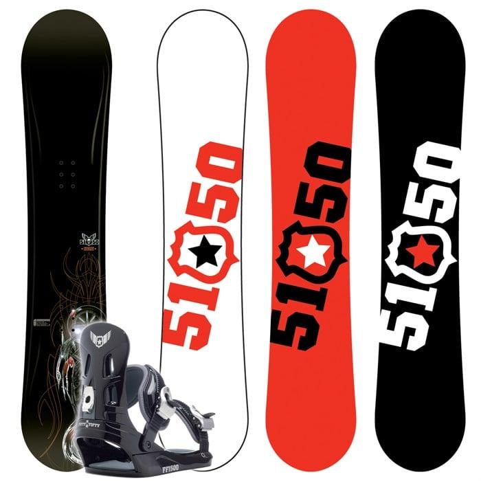 5150 Hemi Snowboard + FF1500 M Binding 2007