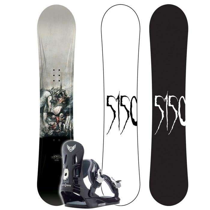 5150 Nomad Snowboard + FF1500 M Binding 2007