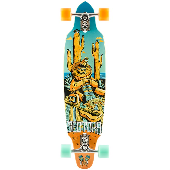 Sector 9 - Tempest Longboard Complete