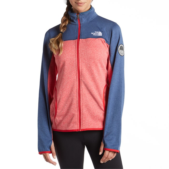 The North Face - Mazie Mays USA Full Zip Hoodie - Women s ... 595c2102be