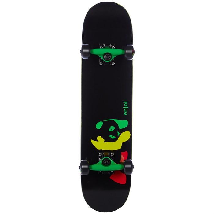 Enjoi - Rasta Panda Youth FP 7.0 Skateboard Complete