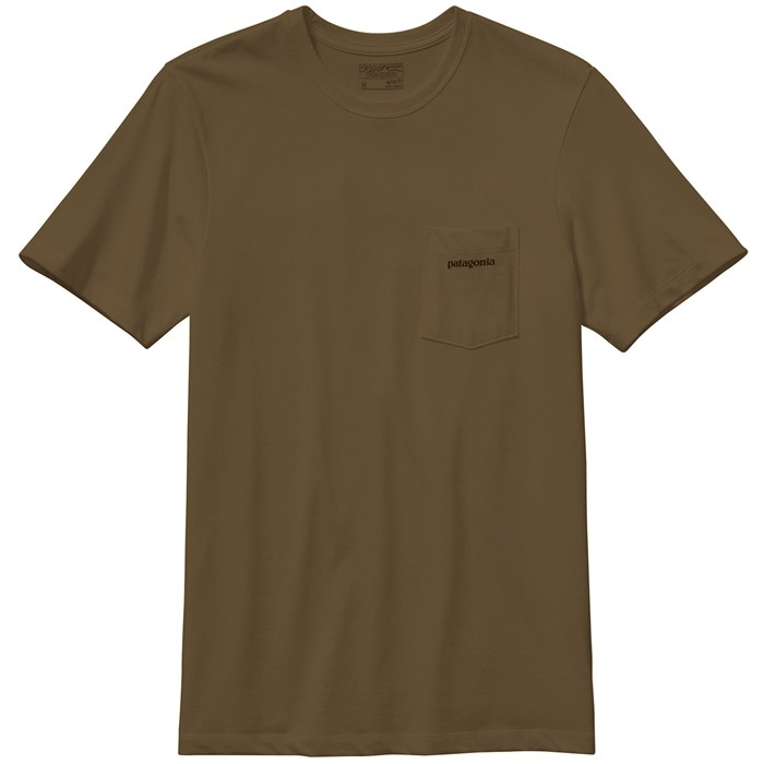 Patagonia P 6 Logo Pocket T Shirt Evo Outlet