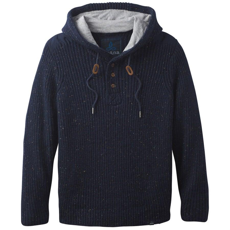 Prana Hooded Henley Sweater | evo