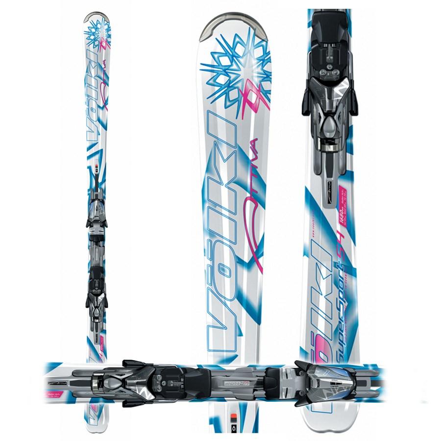 Volkl Attiva Motion S4 Skis + Marker Attiva LT 11.0