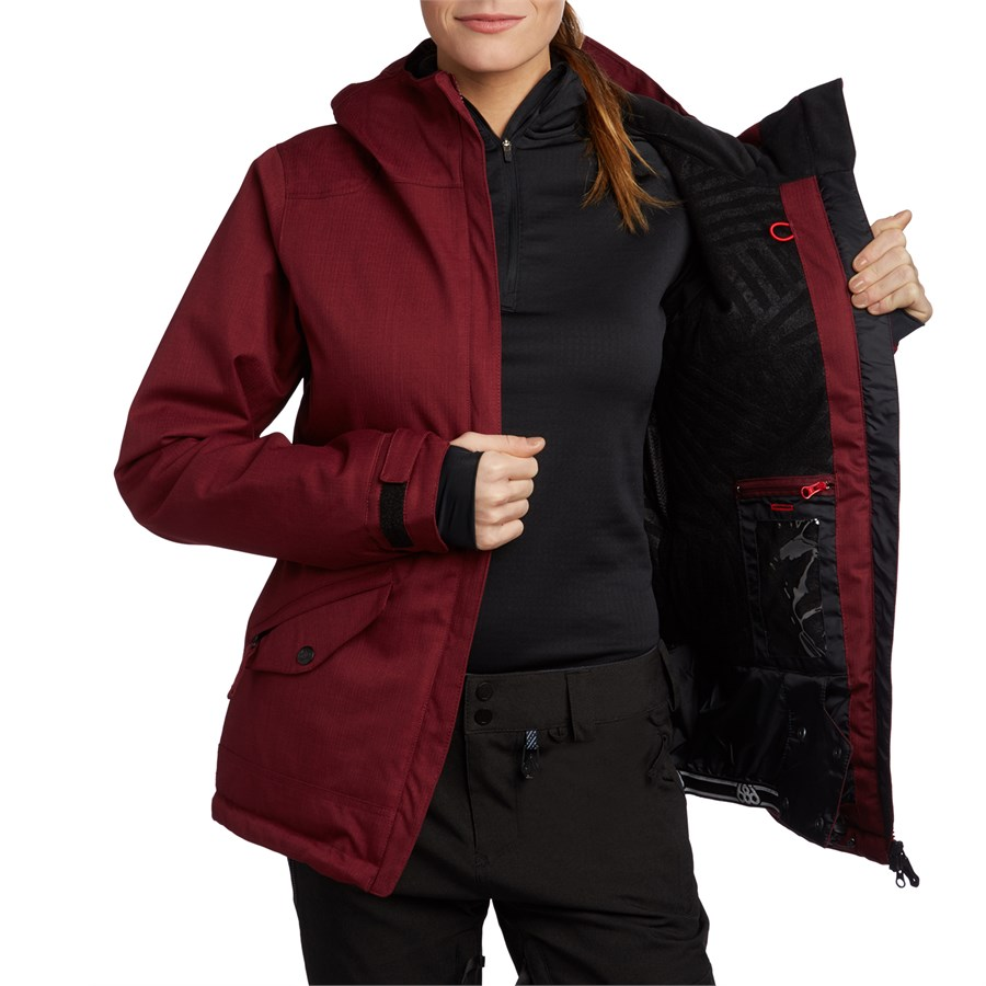 686 faithful womens insulated snowboard jacket