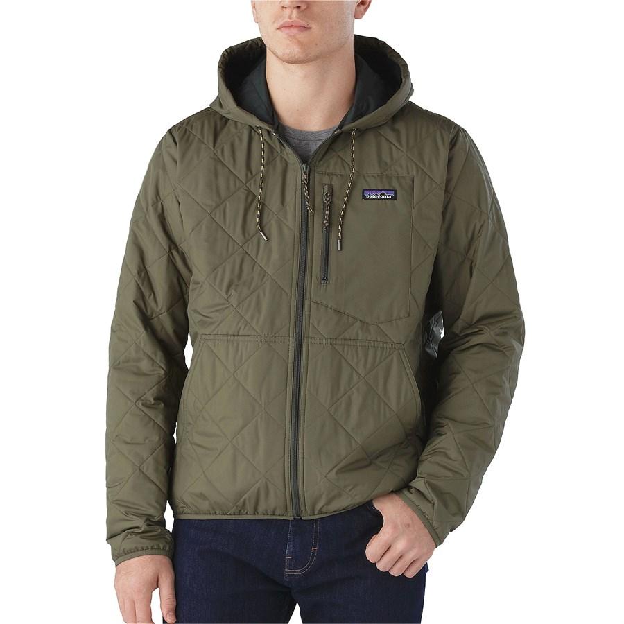 Patagonia Diamond Quilt Bomber Hoodie Jacket Evo