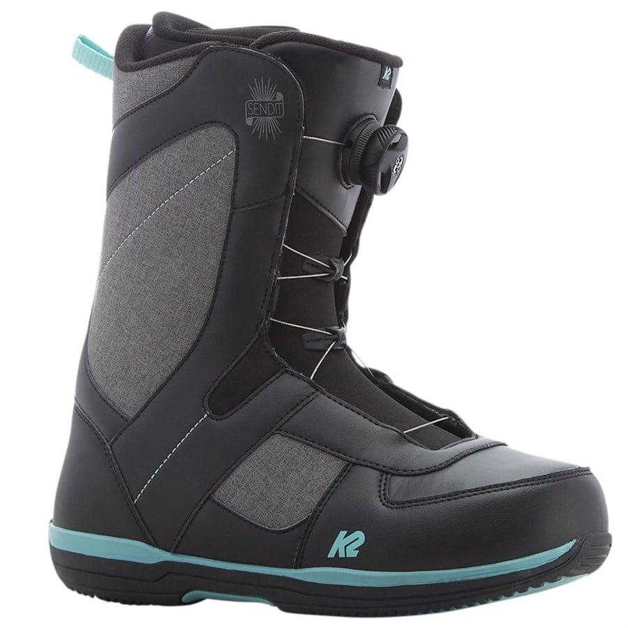 k2 sendit snowboard boots s 2017 evo
