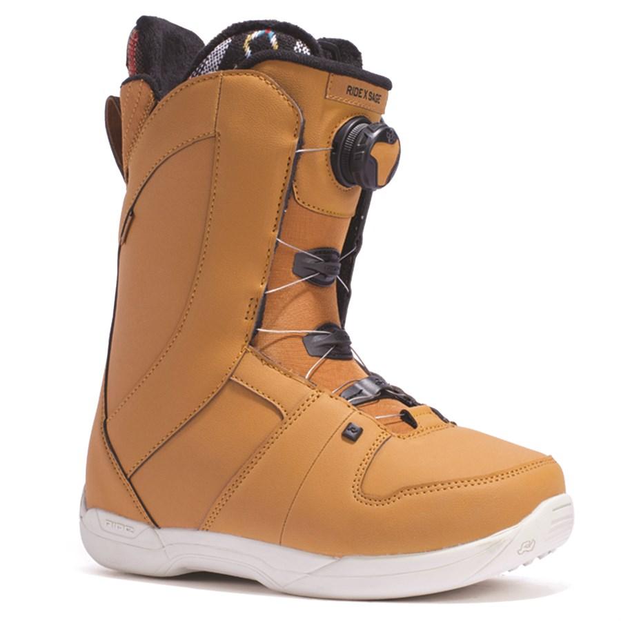 Ride Sage BOA COILER Snowboard Boots Size 8.5 Black NWB