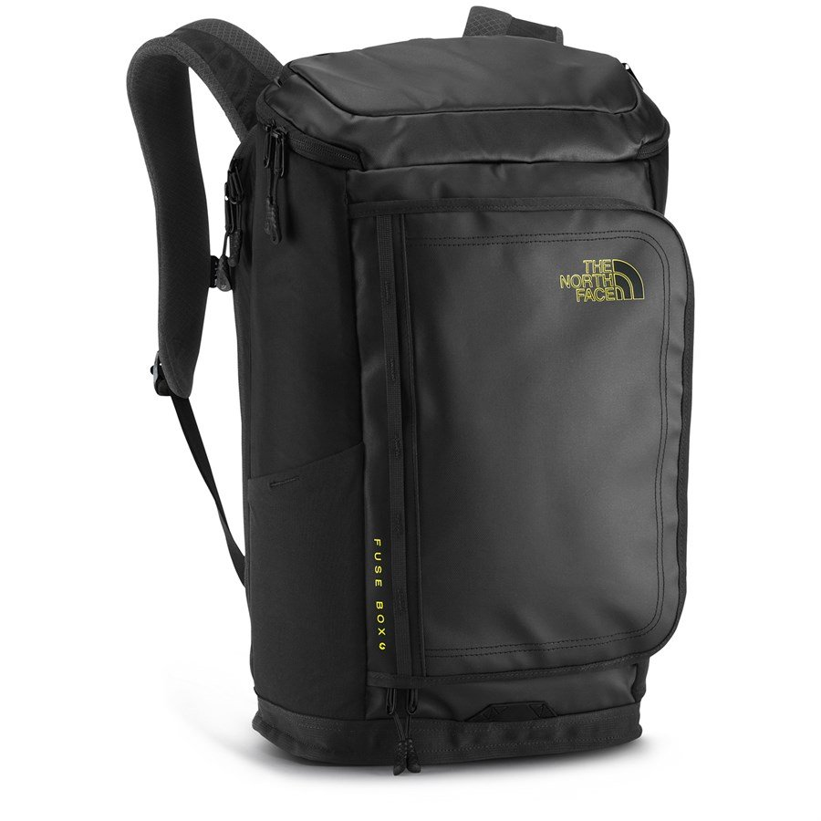 the-north-face-fuse-box-charged-backpack-tnf-black-front North Face Fuse Box Backpack on