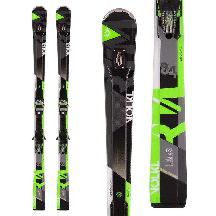 Volkl Rtm 84 Uvo Skis Ipt Wide Ride 12 0 Bindings 2017 Evo