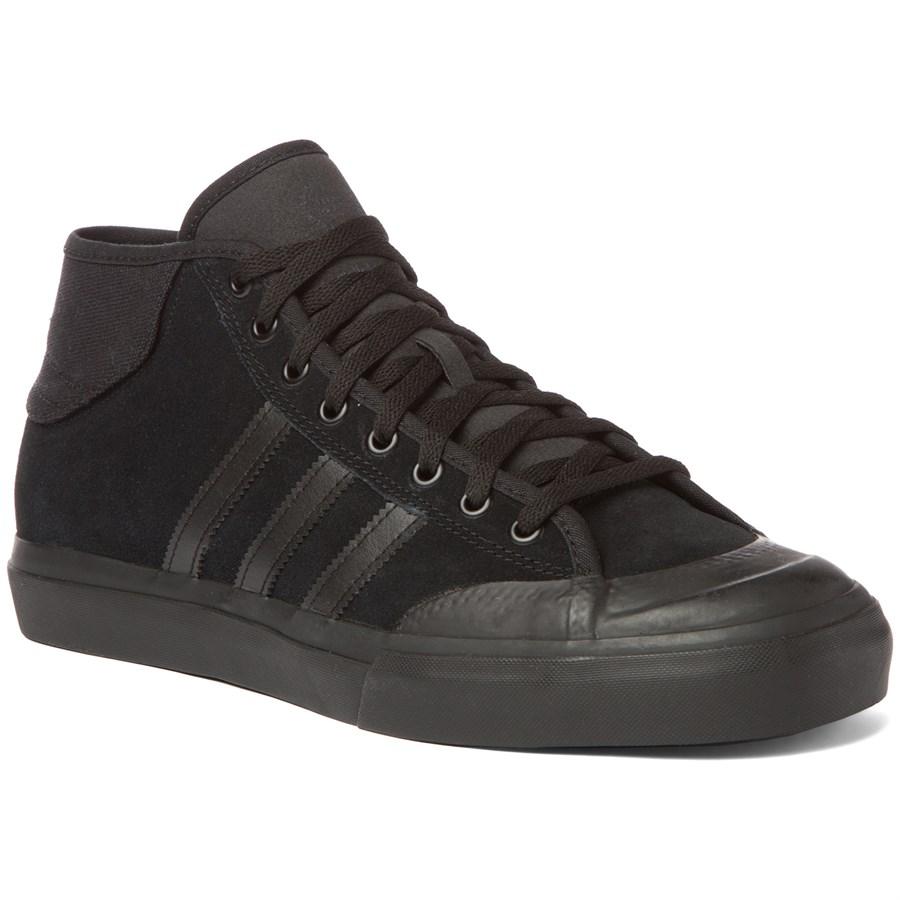 Adidas Matchcourt Mid Adv Shoes Kids Black
