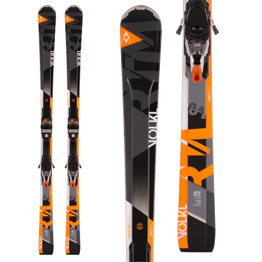 Volkl RTM 81 Skis + IPT Wide Ride 12.0 Bindings 2017