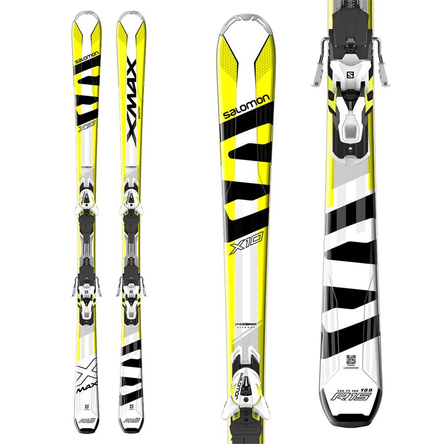 Salomon X-Max X10 Skis + XT 12 Bindings 2017