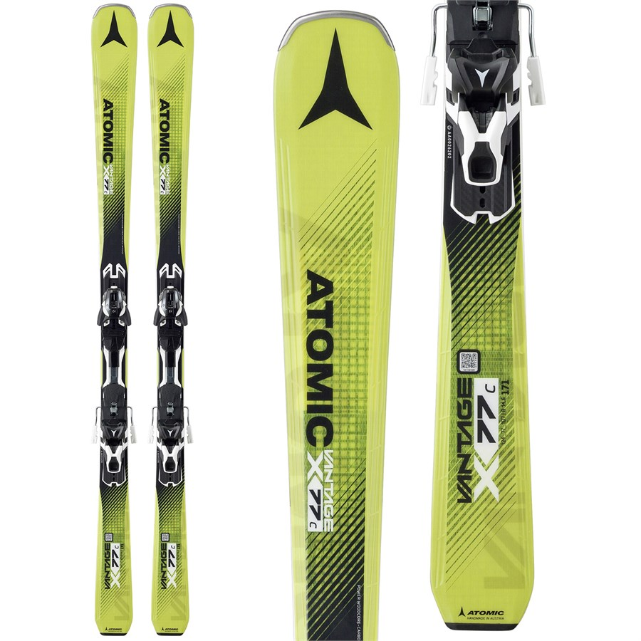 Atomic Vantage X 77 C Skis + XT 10 Bindings 2017