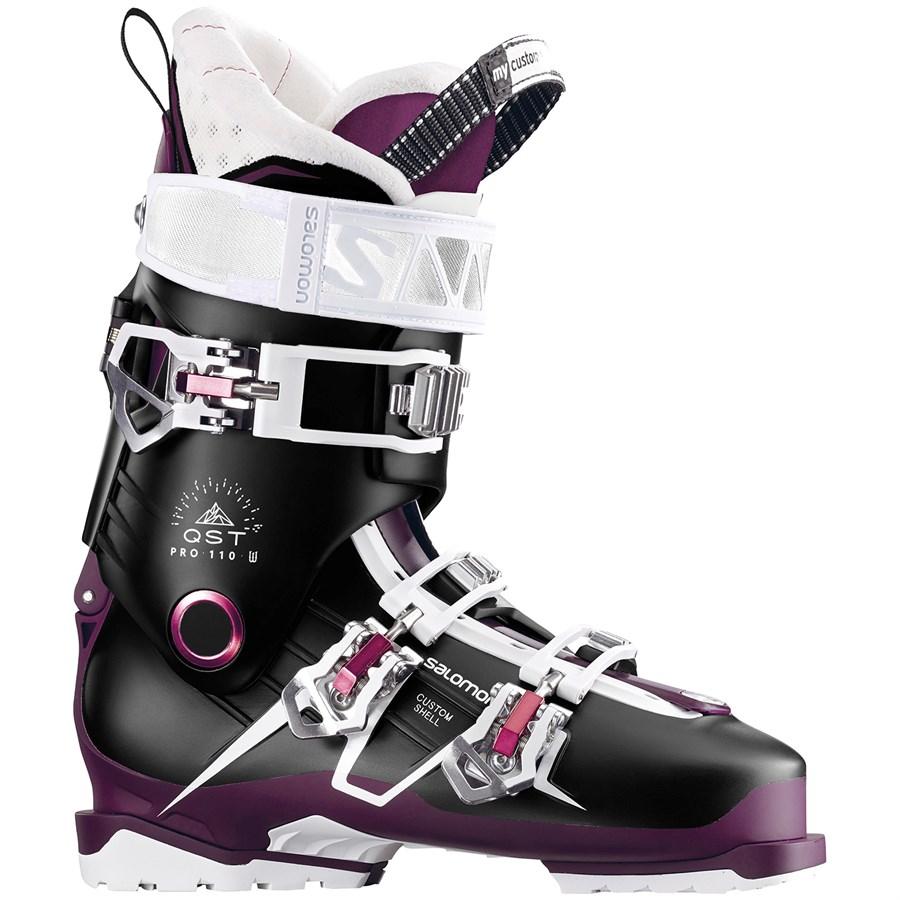 salomon qst pro 110 w ski boots s 2018 evo