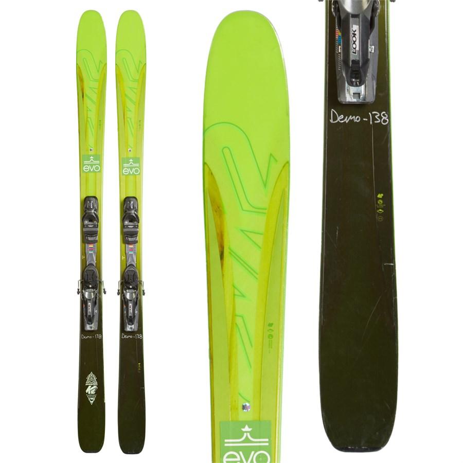 K2 Pinnacle 95 Skis + PX 12 Demo Ski Bindings 2016