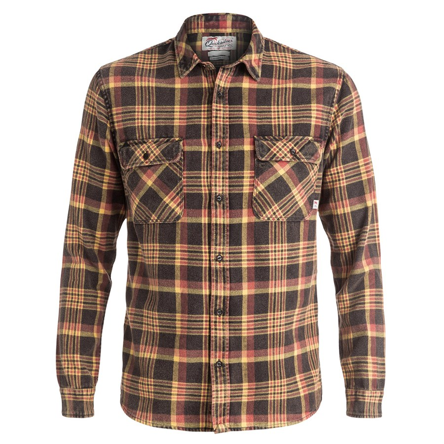 Quiksilver best tang flannel shirt evo for Best flannel shirt brands