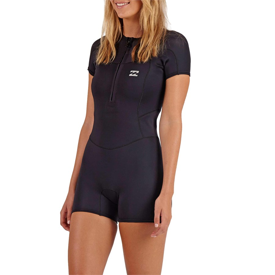 cafddf3b26 Billabong 1mm Synergy FZ Short Sleeve Springsuit - Women s