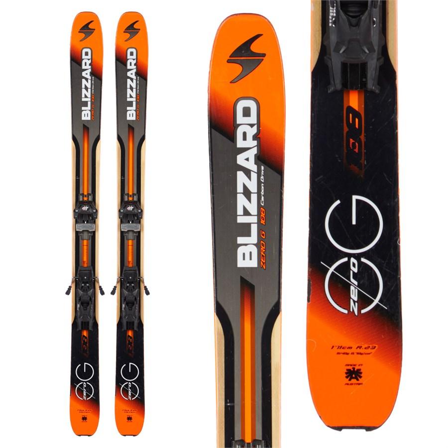 Blizzard Zero G 108 Skis + Tyrolia Attack 13 Demo Bindings
