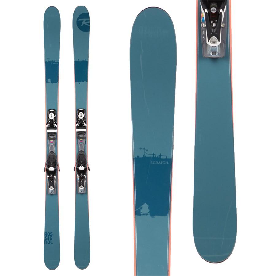 Rossignol Scratch Skis + Axial3 120 Demo Bindings 2016