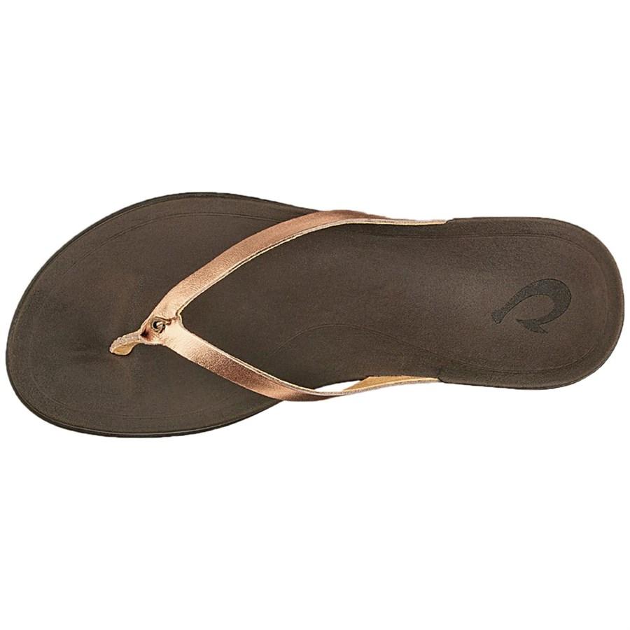 c67f5e062f3bb Olukai Ho opio Leather Sandals - Women s