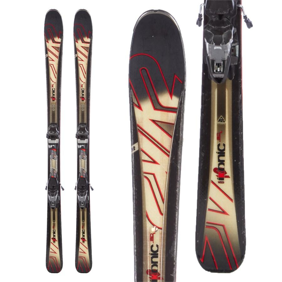 K2 IKonic 80 Skis + M3 10 Bindings 2016 - Used