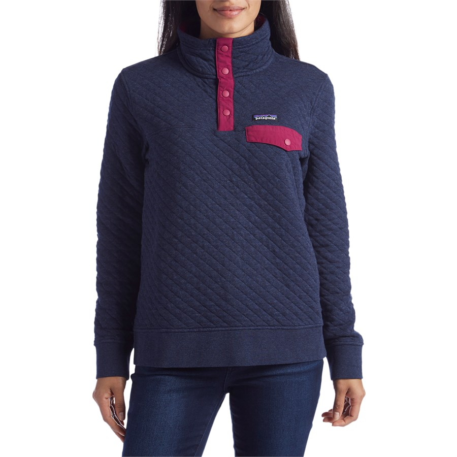 Patagonia Cotton Quilted Snap T Pullover Women S Evo