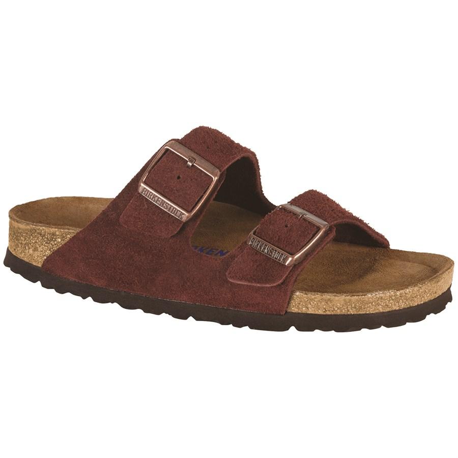 2aaaf1daf Birkenstock Arizona Soft Footbed Suede Sandals - Women s