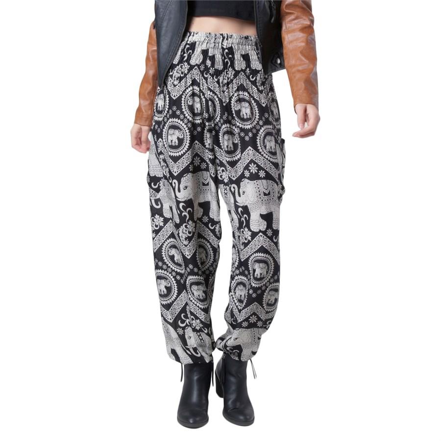 Excellent Pantalon Femme Elephant Pants For Women Trousers High Waist Long Pants