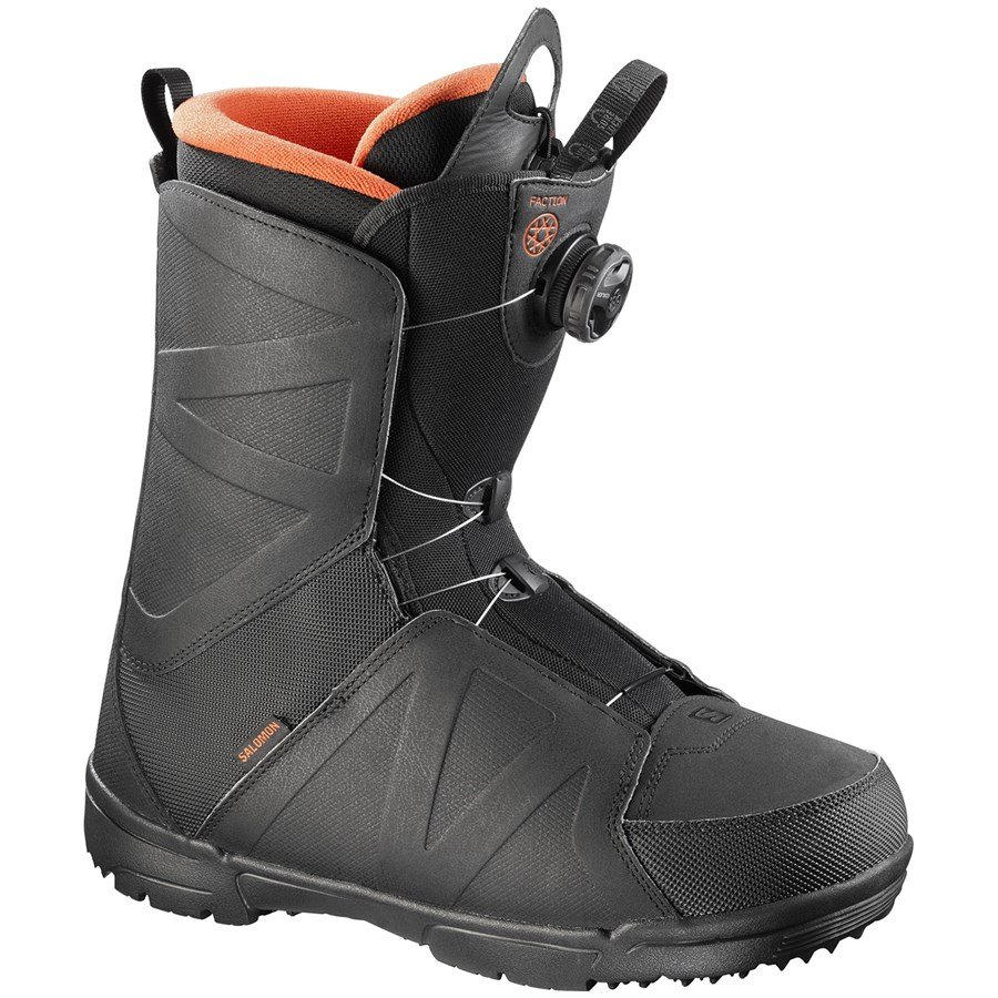 Salomon Faction Boa Snowboard Boots 2017 Evo