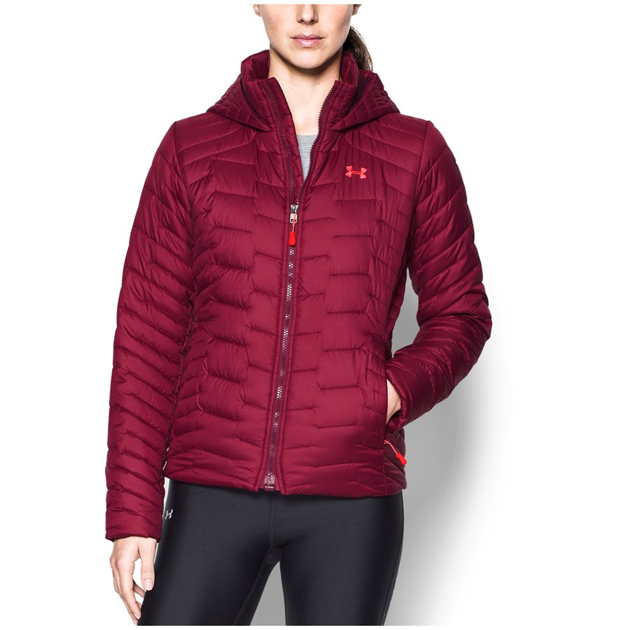 Under Armour Coldgear® Reactor Hooded Jacket - Women s  f395267d6b45