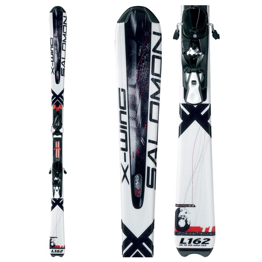 Salomon X Wing 6 Skis + Salomon 610 Bindings 2008