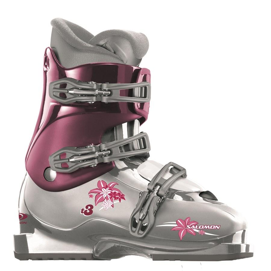 Zzprqhaw8 2008 Evo Girly Boots Salomon Ski Girls T3 TH06a