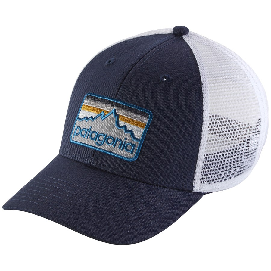 7ee441fa5e332 Patagonia Line Logo Badge LoPro Trucker Hat