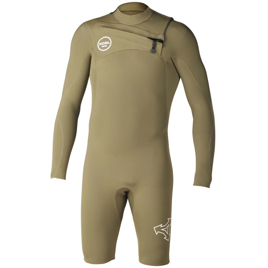 XCEL Mens Comp Short Sleeve 2mm Springsuit