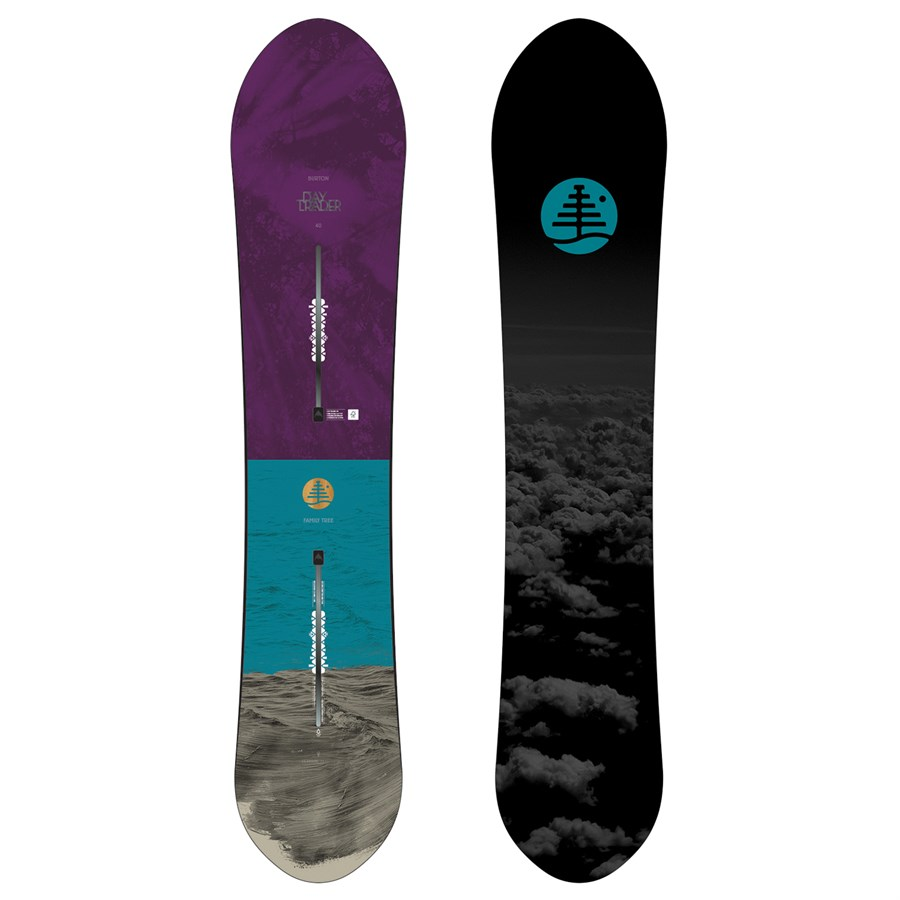 burton family tree day trader snowboard