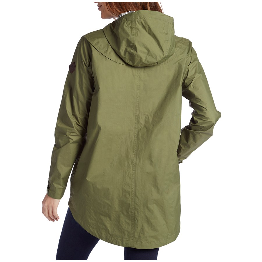 Burton flare parka rain jacket women's