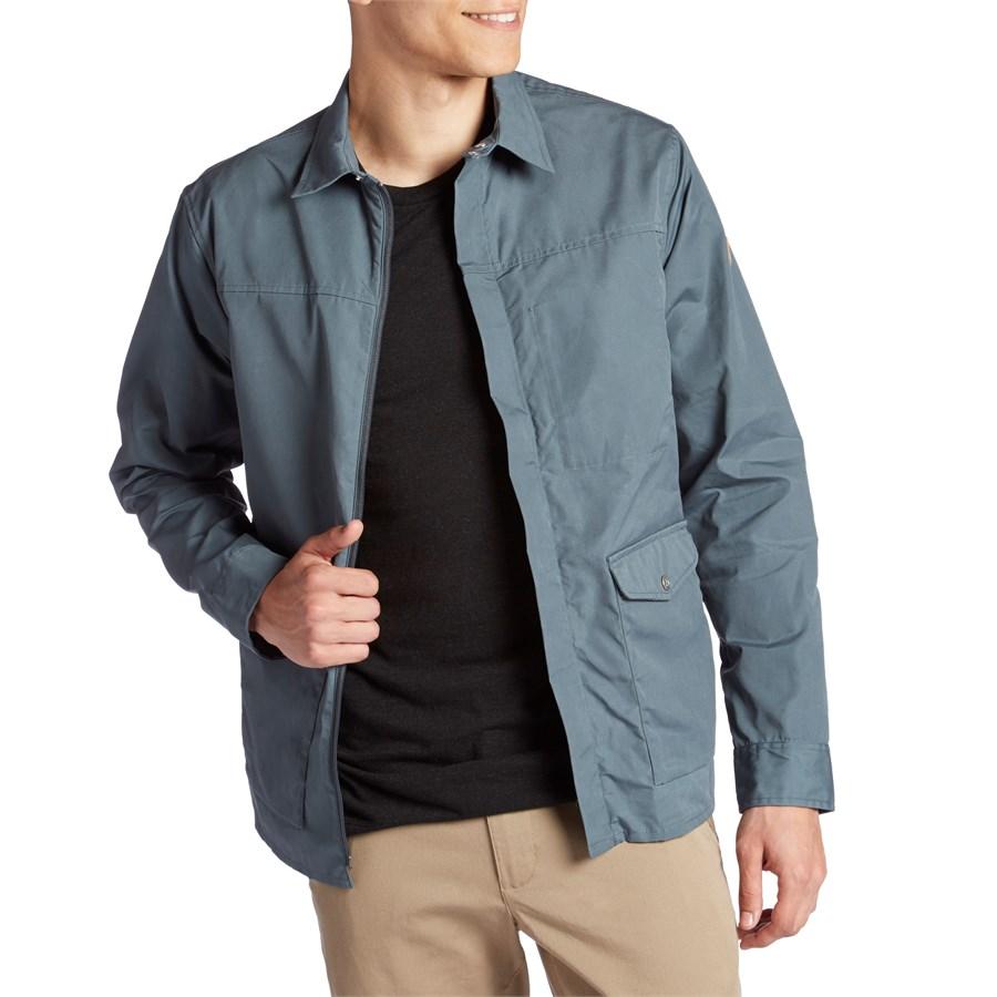 Fjllrven Greenland Zip Shirt Jacket Evo Fjallraven Top Dusk
