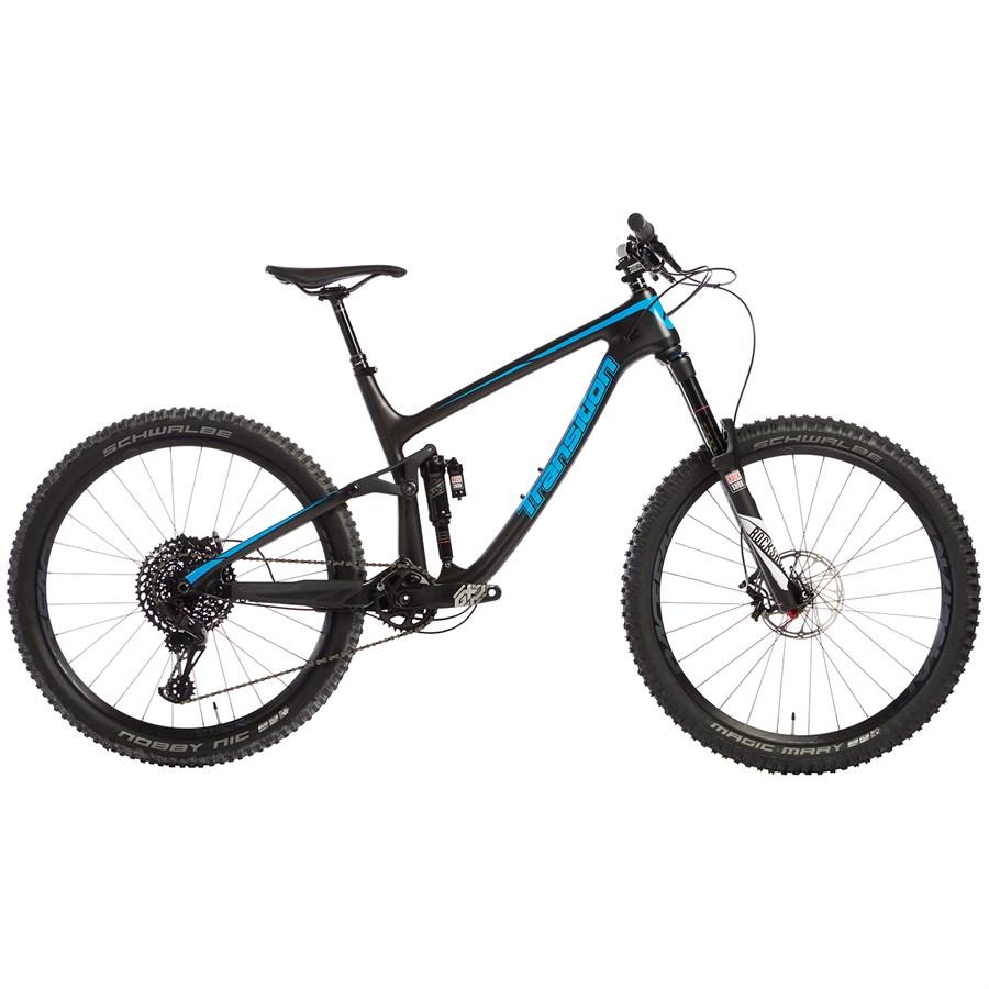 transition patrol carbon gx evo plete mountain bike 2017 Blue Evo VI