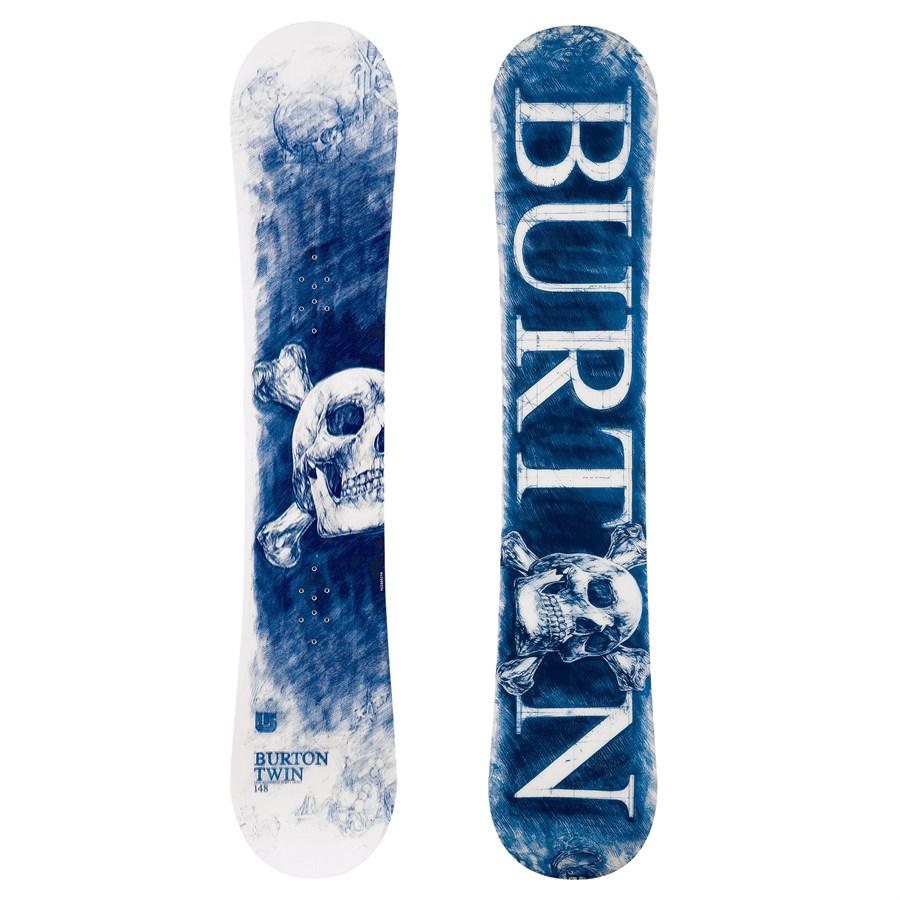 Burton Twin Snowboard (Blue) 2008 | evo outlet