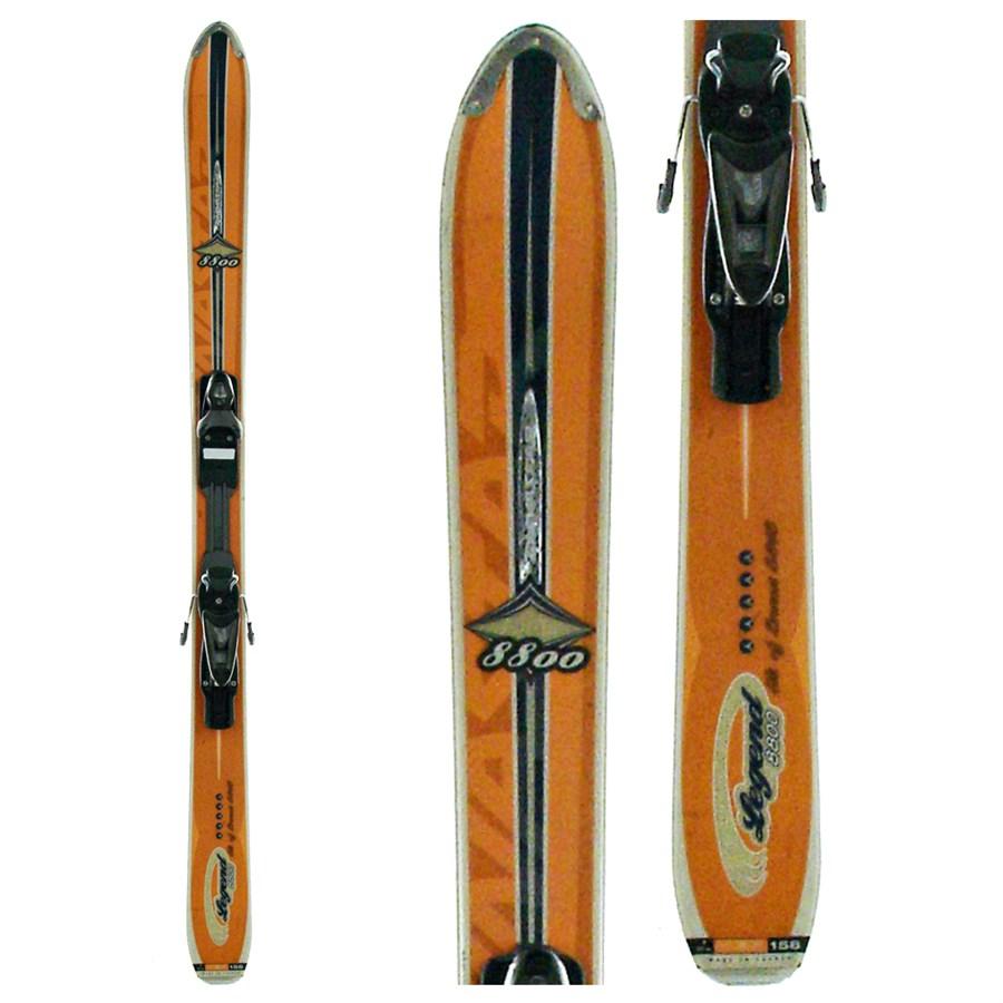 Dynastar Legend 8800 Skis + Bindings - Used 2005