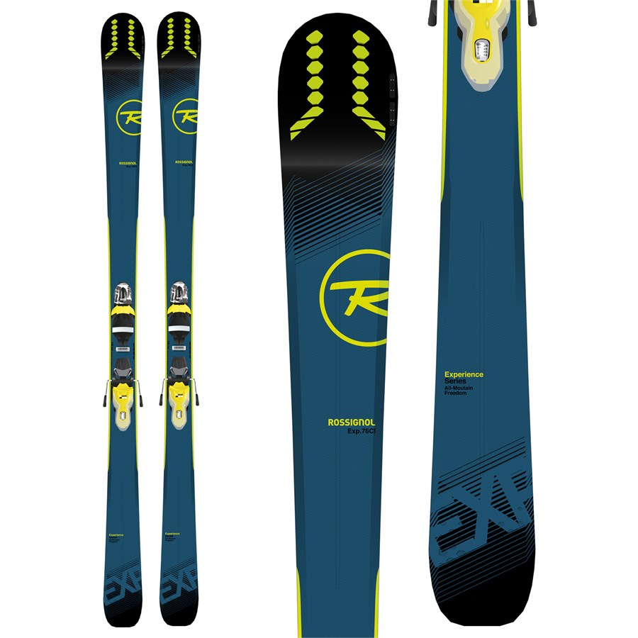 NEW WITH INTEGRATED BINDINGS 2020 ROSSIGNOL EXPERIENCE 76 Ci ADJUST AND GO!