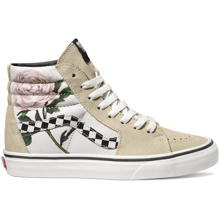Vans Checker Floral Sk8-Hi Shoes